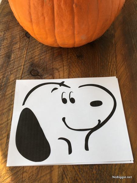 Peanuts Pumpkin Carving Stencils