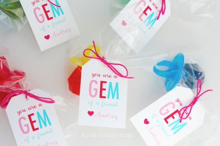 25 Printable Valentines And Gift Tags