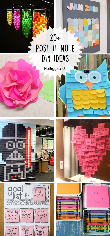 Post It Note Diy Ideas Iggie Net