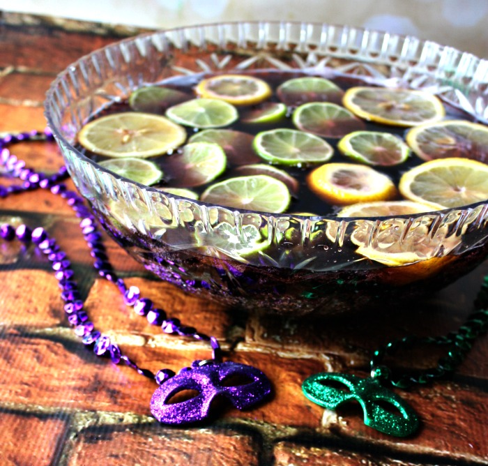 Mardi Gras Punch | 25+ Non-Alcoholic Punch Recipes