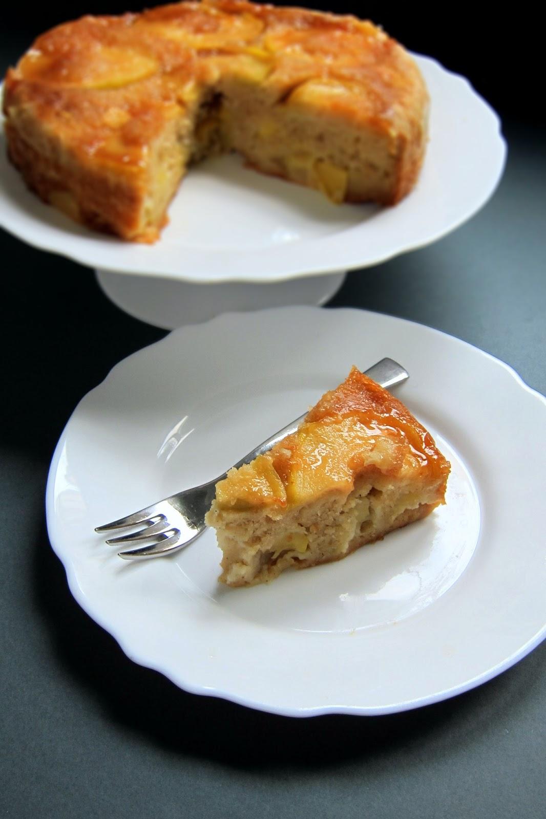 Peach Caramel Cake