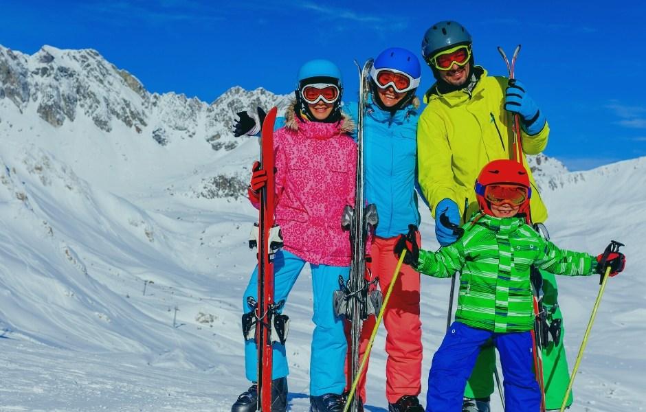 skijanje za obitelj
