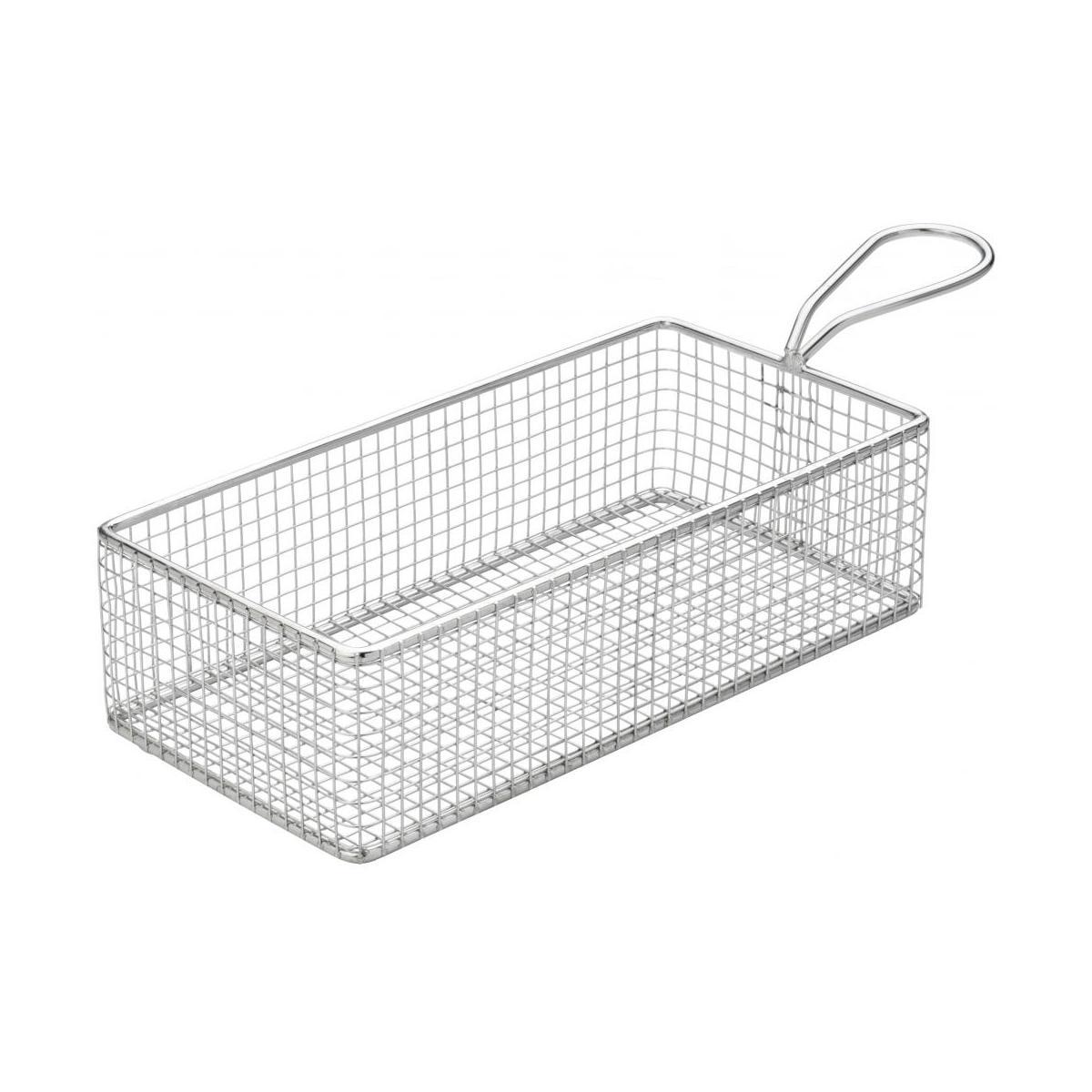 Creative Table Rectangular Wire Service Basket