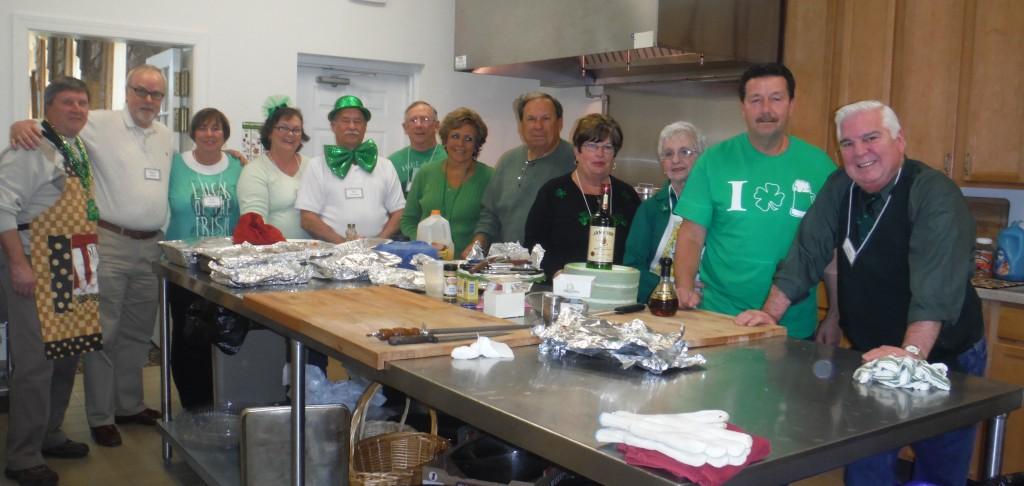 St Paddys -volunteers & cooks