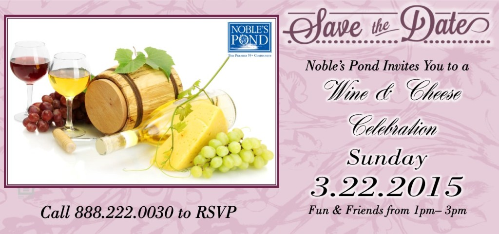 save the date wine and cheese sunday
