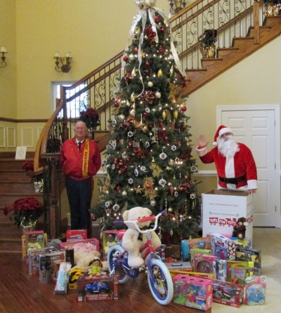 Toys for Tots Drive 2015 at Noble's Pond