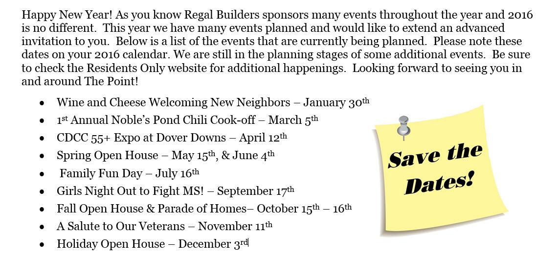 invite to events