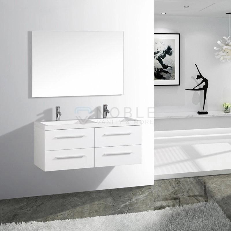 https www noblevanity ca product venice 48 inch double sink floating wall mount oak wood black white vanity