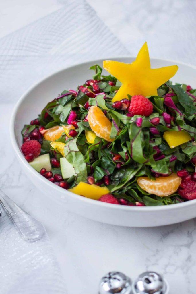 Christmas Colorful Salad