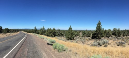 Looking west towards Bend and the mountains beyond. Photo: ©Charles Noble