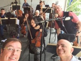 Viola section selfie!