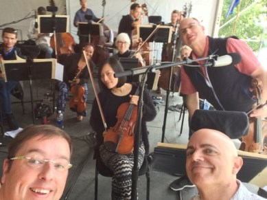 Viola section selfie!