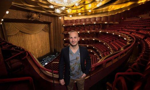 Yannick Nézet-Séguin at the Metropolitan Opera in New York.