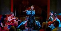"Amelia Lukas performing Joan Tower's ""White Water""."