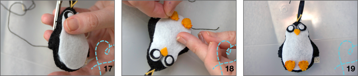 pinguin stap 17-18-19