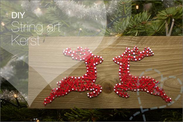 String art kerst DIY