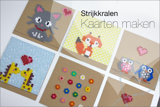 intro kaarten maken met strijkkralen