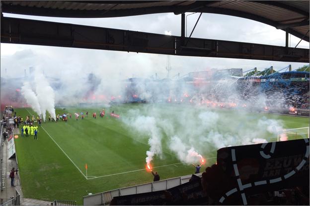 Willem II - NAC degradatie wedstrijd