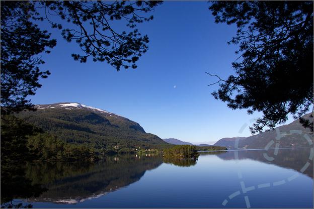 Noorwegen bergen en meren