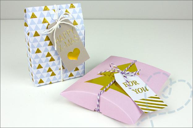 Kruidvat kerstspullen knutselen cadeaudoosjes