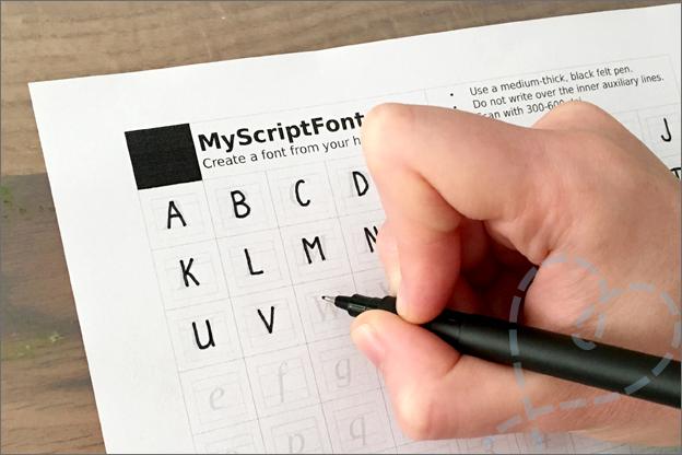 eigen lettertype maken