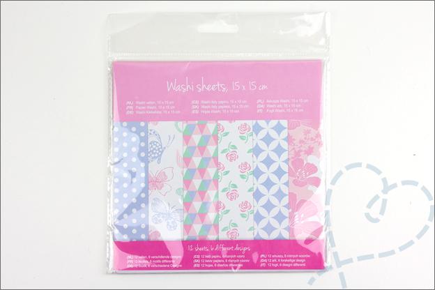 Action washi sheets shoplog