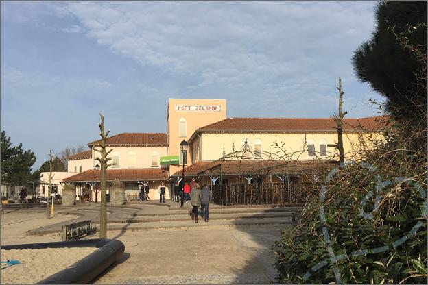 Center parcs Port Zelande market dome