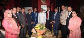 রাষ্ট্রপতির সাথে  গ্র্যাজুয়েট ক্লাব ইউকের মতবিনিময়  অনুষ্ঠিত
