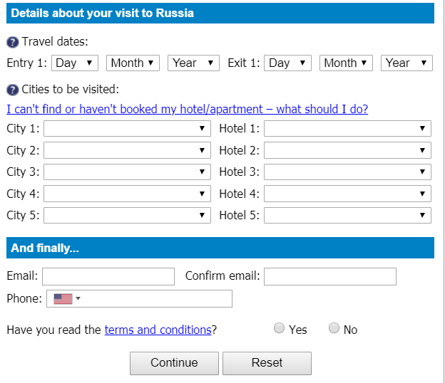 How To Obtain A Russian Visa As An American - No Borders Required