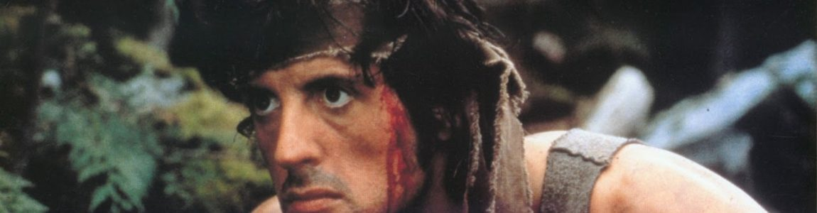First Blood (1982), Rambo: First Blood Part II (1985) & Rambo III (1988)