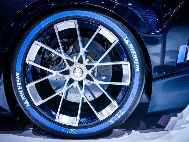 Bugatti Vision Gran Turismo Wheel Rim Close Up No Car No