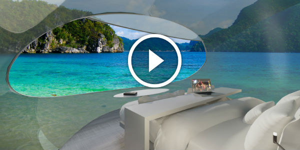 Can You Imagine A HOTEL ROOM OF THE FUTURE That Follows You WHEREVER YOU GO?! Would You Spend Your Holiday IN A DRONE?