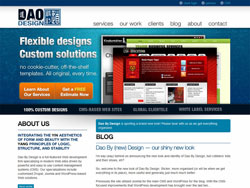 New Dao By Design site