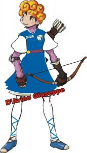 Mascotte Cynthia