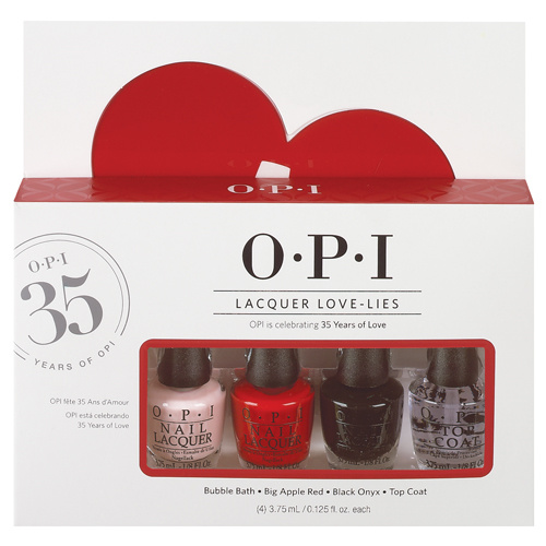 O.P.I - Lacquer Love-Lies Mini-Kit de Vernis