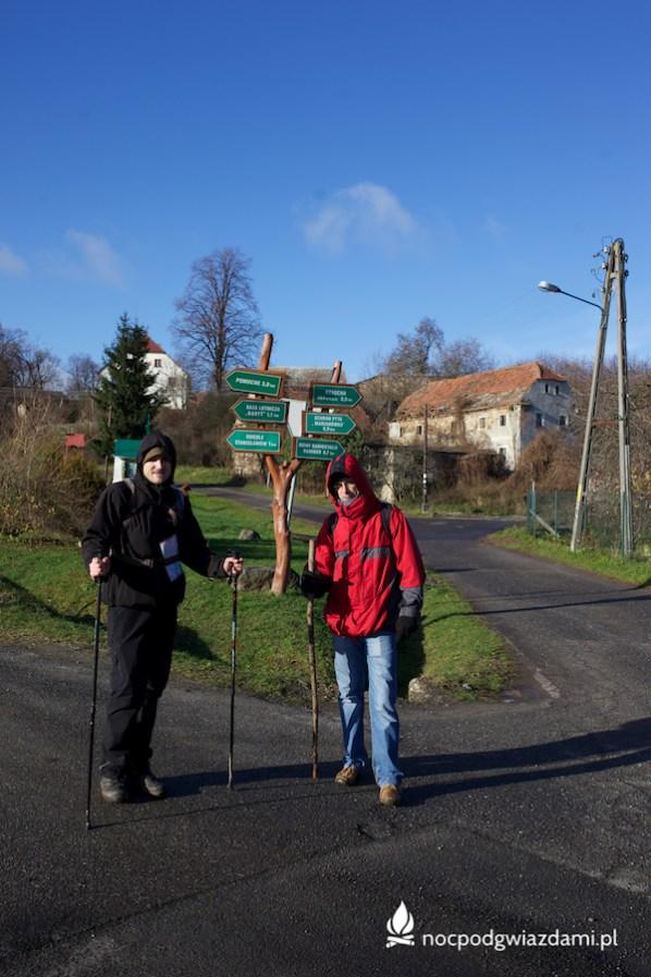 Skrzyżowanie szlaków w Stanisławowie