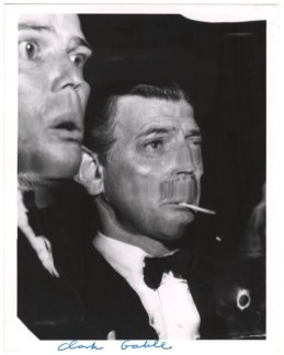 Weegee. Henry Fonda and Clark Gable distortion. © International Center of Photography/Getty Images