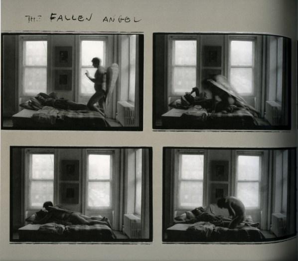 © Duane Michals. The Fallen Angel, 1968