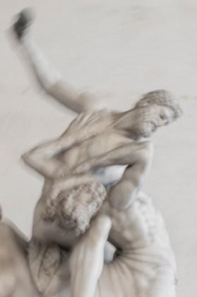 Loggia dei Lanzi, Firenze. Ercole e il centauro Nesso