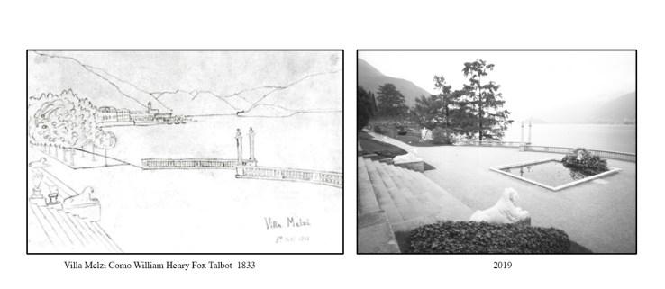 Talbot-Villa Melzi-drawing &Photo