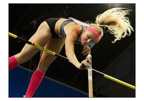 Sandi Morris – argento olimpico 2016 – Weltklasse Zurich – 2019 - © Fabio Ottonelli