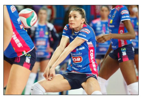 Francesca Piccinini – Igor volley Novara – Il Bisonte Firenze – Serie A1 – Novara - 2019 - © Fabio Ottonelli