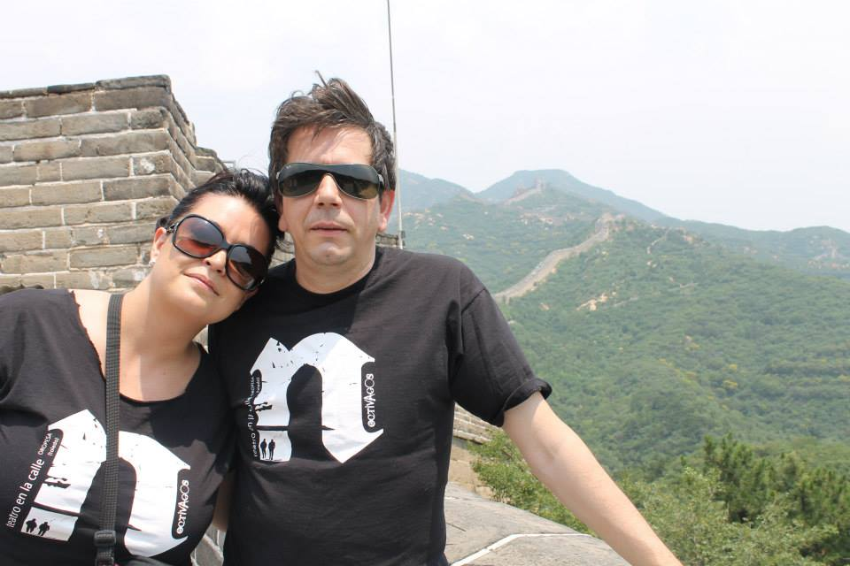 Jose y Laura – Muralla China
