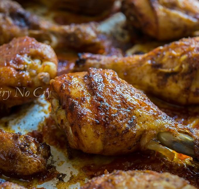 Roast Chicken Backs with Legs