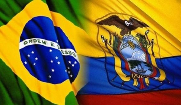 Resultado de imagen para ecuador y brasil