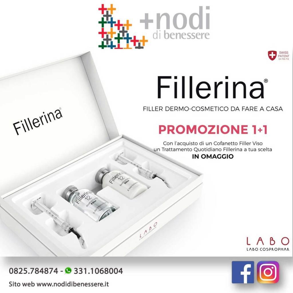 PROMOZIONE FILLERINA 1+1:
