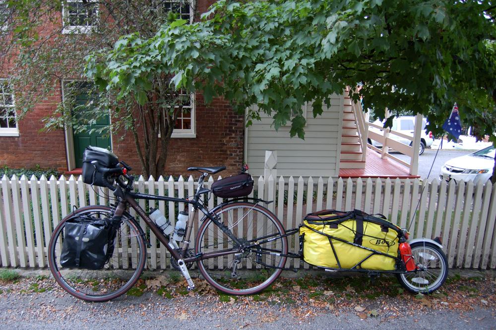 Day 7: Lexington to Camp Bethel, VA