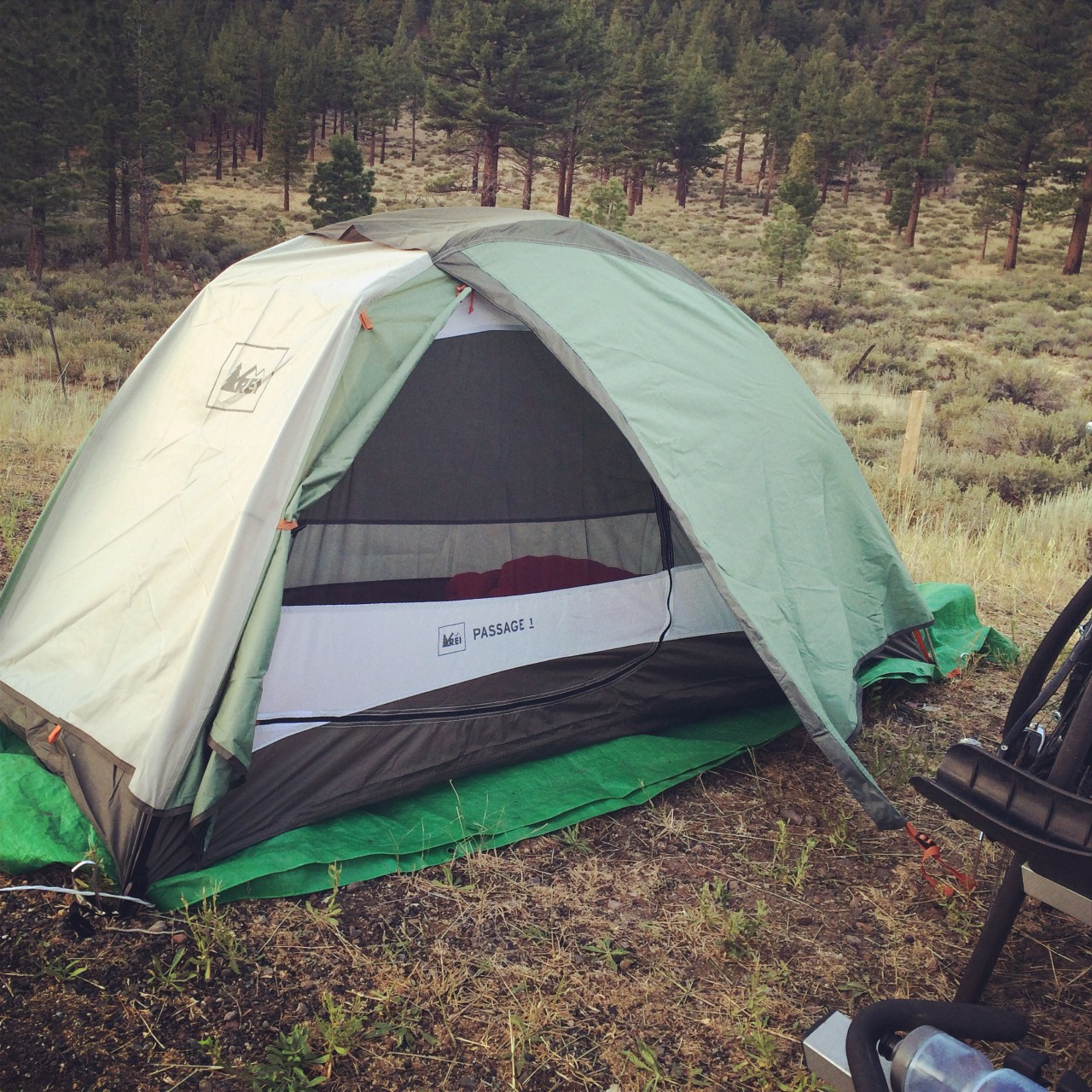 New tent! It's awesome.