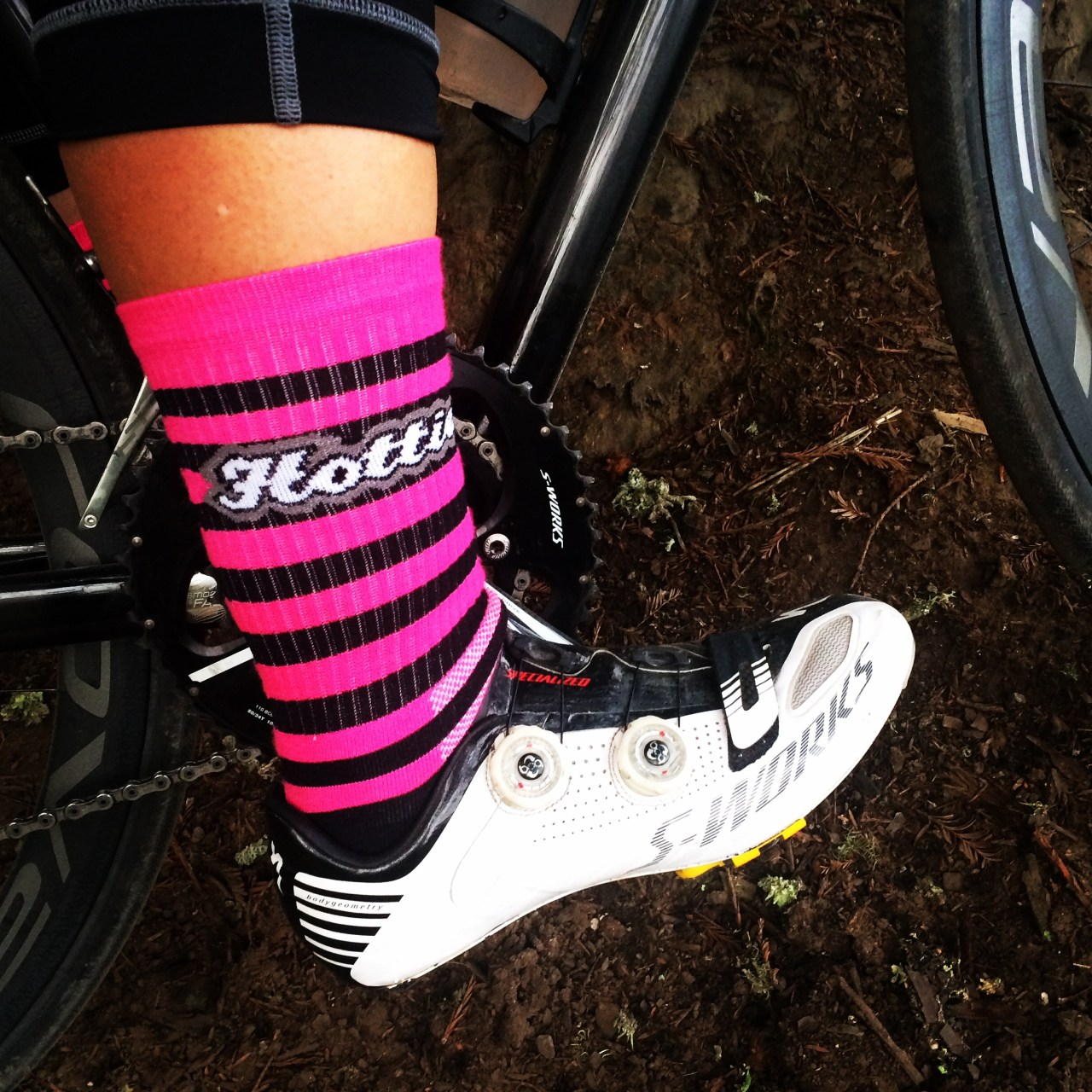 Stage 3 (AM stage) sock selection. Hottie sock.