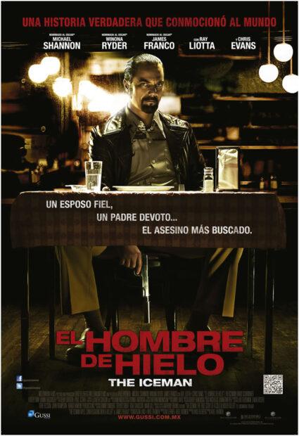the iceman poster-el-hombre-de-hielo